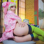 Jessica Nigri Mitsuri Tea Room Picture Set