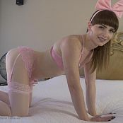 Natalie Mars Pink Lingerie Solo Tease Picture Set & HD Video