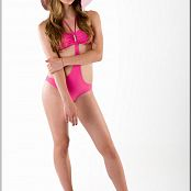 TeenModelingTV Alexandra Pink Swimsuit Picture Set