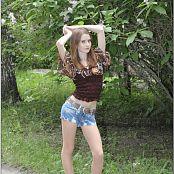 TeenModelingTV Kristine Brown Top Picture Set