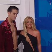 Britney Spears Red Carpet VMA 2016 HD Video