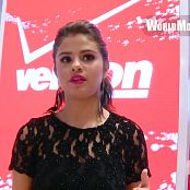 Selena Gomez Interview Verizon Wireless Store HD Video