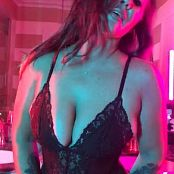 Christina Model OnlyFans Black Lingerie Tease HD Video