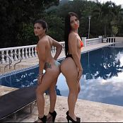 Clarina Ospina & Kim Martinez Body Paint TCG Bonus Level 3 HD Video 019