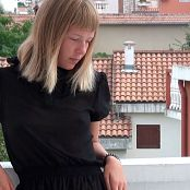 PilGrimGirl White Balcony HD Video 002