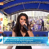 Selena Gomez Medley Live Citi Concert Today Show 2015 HD Video