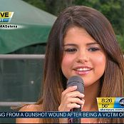 Selena Gomez Who Says Live GMA 2011 HD Video