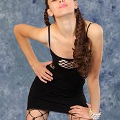 Silver Starlets Nastya Black Dress Picture Set 002