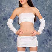 Silver Starlets Tamta White Stockings Picture Set 001