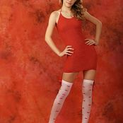 Silver Stars Vanessa Red Dress Picture Set 001