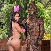 Thaliana Bermudez Rabbit Costume TCG Picture Set 018