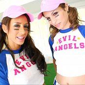 Amber Rayne & Mya Nichole Deep Anal Abyss 2 DVDR & BTS Video