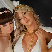 Aubrey Kate Daisy Taylor & Natalie Mars Three Angelic Graces HD Video