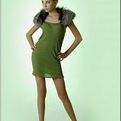TeenModelingTV Masha Green Dress Picture Set