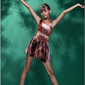 TeenModelingTV Alizee Brown Sparkle Picture Set