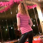 Kitty Kat Pink Stripe Top HD Video