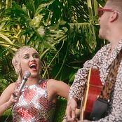 Miley Cyrus Plastic Hearts Backyard Sessions HD Video