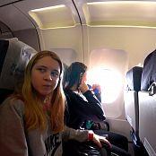 PilGrimGirl Plane HD Video