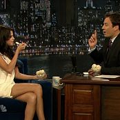 Selena Gomez Jimmy Fallon Interview 2011 HD Video
