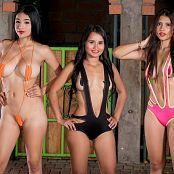 Thaliana Bermudez Poli Molina & Pamela Martinez Slingshots TCG Bonus Level 3 Picture Set 006