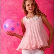 TeenModelingTV Mika Pink Baby Doll Picture Set