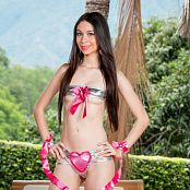Ximena Gomez Silver Two-Piece TCG Picture Set 028