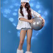 TeenModelingTV Sabina Snow Flakes Picture Set
