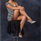 TeenModelingTV Yuliana Print Dress Picture Set