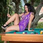 Clarina Ospina Purple Mini TCG Picture Set 025