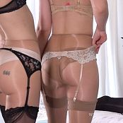 Lucid Lavender & Goddess Emerald Serial Dry Hump Executrixes HD Video