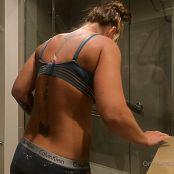Christina Model OnlyFans Shower Tease HD Video