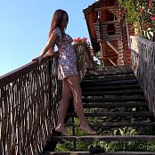 Cinderella Story Juliet Summer Dancing on The Stairs HD Video 003