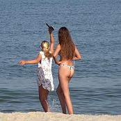 Cinderella Story Pink Rabbit Shooting On The Beach Picture Set & HD Video 001