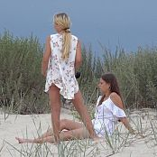 Cinderella Story Pink Rabbit Shooting On The beach Picture Set & HD Video 002