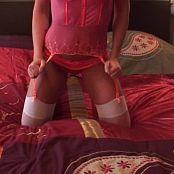 Karendreams Pink Lingerie On Bed Video