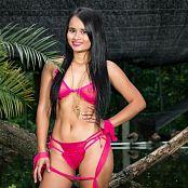 Thaliana Bermudez Pink Lingerie TCG Picture Set 028