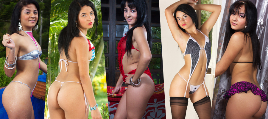 Download Clarina Ospina Sexy Teen Model Picture Sets & Videos Megapack