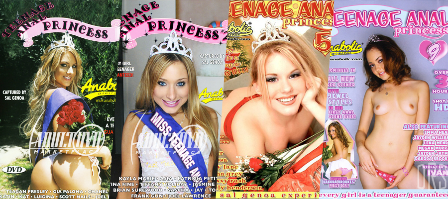 Download Teenage Anal Princess 1 – 9 DVDRip Video Collection Megapack