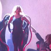 Download Britney Spears Very Sexy In Shiny Black Latex Catsuit HD Video