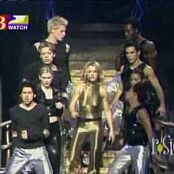 Download Britney Spears Oops I Did It Again Live Shiny Golden Catsuit Video