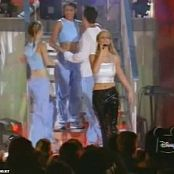 Download Britney Spears I Will Be There Live MGM 1998 Sexy Shiny Outfit Video