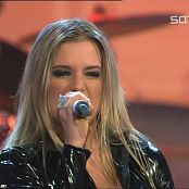 Download Jeanette Biedermann Rockin On Heavens Floor Live DLS 2003 Vinyl Catsuit Video