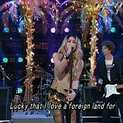Download Shakira Whenever Wherever Live Music Station Japan 2002 Video