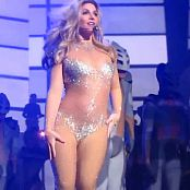 Download Britney Spears Work Bitch Live Sexy Sparkling Catsuit 2014 HD Video