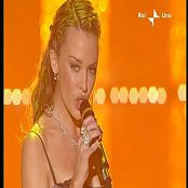 Download Kylie Minogue In Your Eyes Live San Remo 2002 Video
