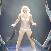 Download Britney Spears Womanizer Live In Sexy Sparkling Catsuit HD Video