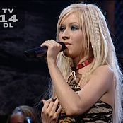 Download Christina Aguilera WAGW Live Shiny Latex Leggings HD Video