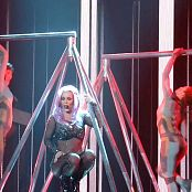 Download Britney Spears Pink Hair & Glittering Catsuit Live 2014 HD Video