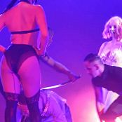 Download Britney Spears Pink Hair & Golden Outfit Whipping Boy HD Video