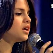 Download Selena Gomez The Way I Loved You Live MTV 2010 HD Video